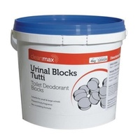 4kg Cleanmax Urinal Blocks Tablets Tutti Bucket