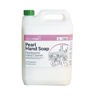 5L Cleanmax  White Pearl Liquid Hand Soap Wash Cleaner