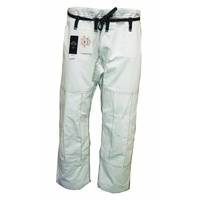 DRAGON FIGHT WEAR COMPETITION BJJ PANTS-White
