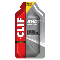 CLIF BAR Double Expresso Energy Gel SHOT 24 Pack x 34g