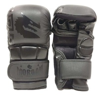 Morgan B2 Bomber LEATHER Shoto Mma Sparring Gloves