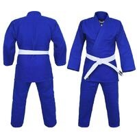 Dragon Blue 1.5 (550Gsm) Judo Weave Uniform[6]