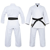 YAMASAKI GOLD DELUXE BRUSHED CANVAS KARATE UNIFORM - 14OZ