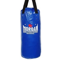 Morgan Small Stubby Punch Bag (Empty & Foam Lined Option Available) [Empty Blue]