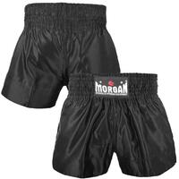 Morgan Muay Thai Shorts - Black[X-Small]