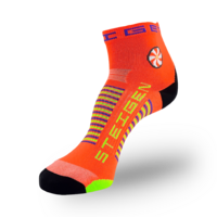 Steigen Goldfish Orange Running & Cycling Socks – 1/4 Length