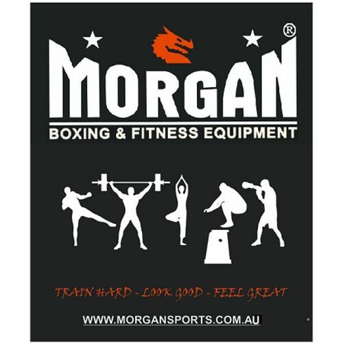 Morgan Train Hard - Look Good - Feel Great Banner