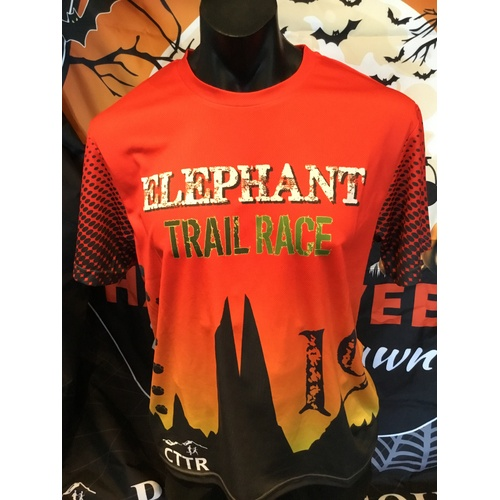 Elephant Trail Race 2019 Event Shirt [Size: Medium]