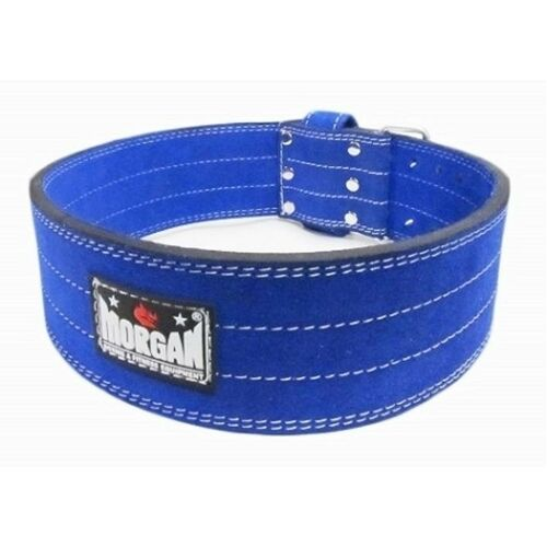 Morgan Quick Release Suede Leather Weight Belt [Large]